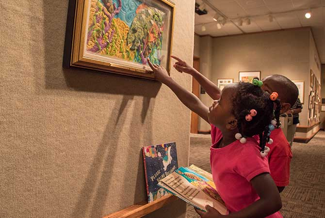 Mazza Museum Offers Reading Activities for Children's Book Week